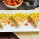 Rice Krispie Candy Corn Treats