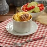 Muenster Cheese Soufflés #FrenchFridayswithDorie #IFBC2013