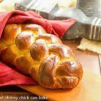 Pumpkin Challah - An autumn twist on this classic braided loaf
