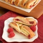 Raspberry Danish Braid #TuesdayswithDorie