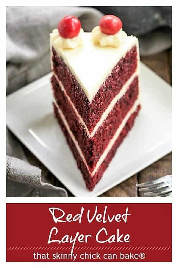 Red Velvet Cake with White Chocolate Cream Cheese Frosting Pinterest collage