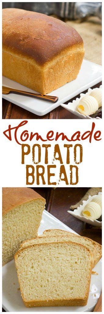 Potato Bread | The ultimate sandwich bread!