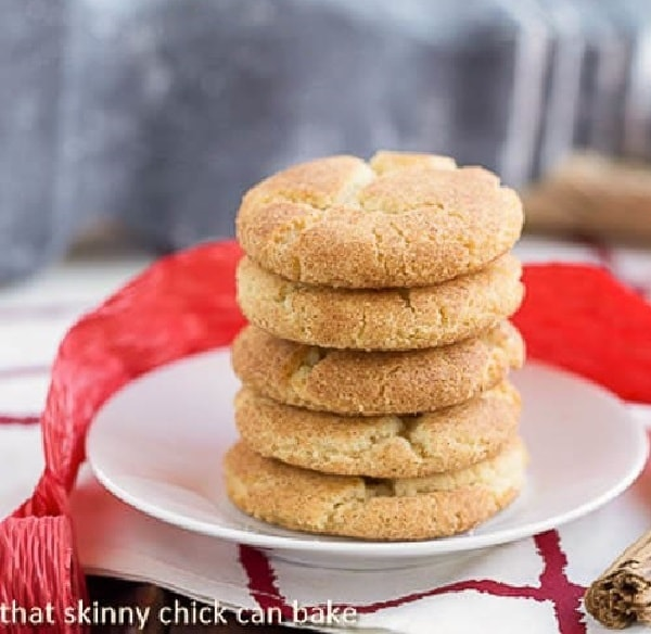 Brown Butter Snickerdoodles | The classic cinnamon sugar coated cookie with a boost of flavor from brown butter