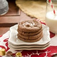 Rolo Brownie Cookies | Scrumptious treat with a caramel surprise in the middle
