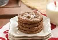 Rolo Brownie Cookies #CookieWeek #TwoSweetiePies