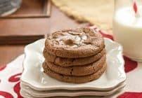 Rolo Brownie Cookies