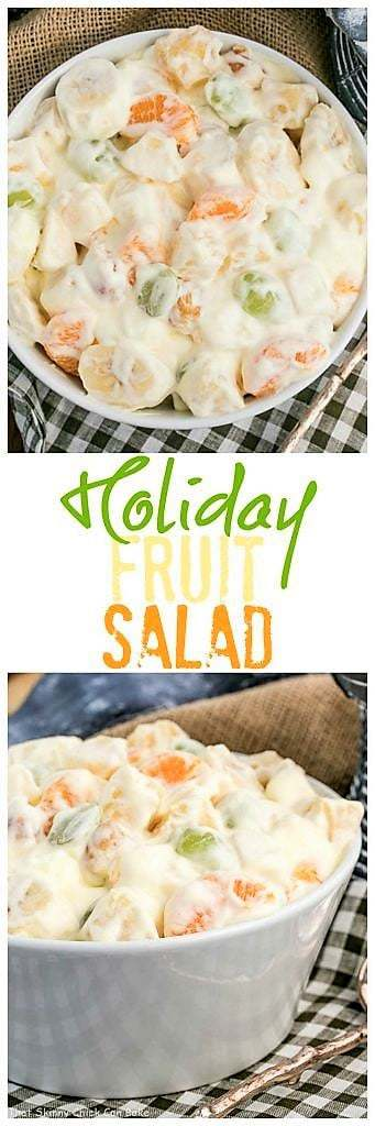 Holiday Fruit Salad with Marshmallows | A salad that's been in our family for 4 generations!