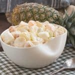Holiday Fruit Salad with Marshmallows