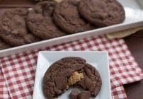 Peanut Butter Filled Chocolate Cookies #CookieWeek #Giveaway