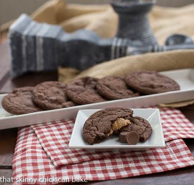 Peanut Butter Stuffed Chocolate Cookies | A classic flavor combo in a chewy, irresistible cookie!