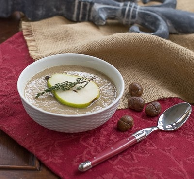 Chestnut Pear Soup