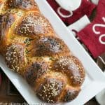 Braided Challah #TuesdayswithDorie