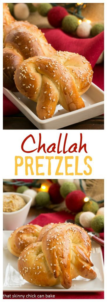 Homemade Challah Pretzels | Chewy, delectable pretzels made with an eggy yeast dough
