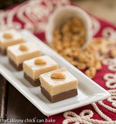 7th Day Of Christmas Skinny Chocolate Peanut Butter Fudge ...