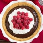 Chocolate Satin Pie #SundaySupper