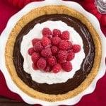 Chocolate Satin Pie #SundaySupper