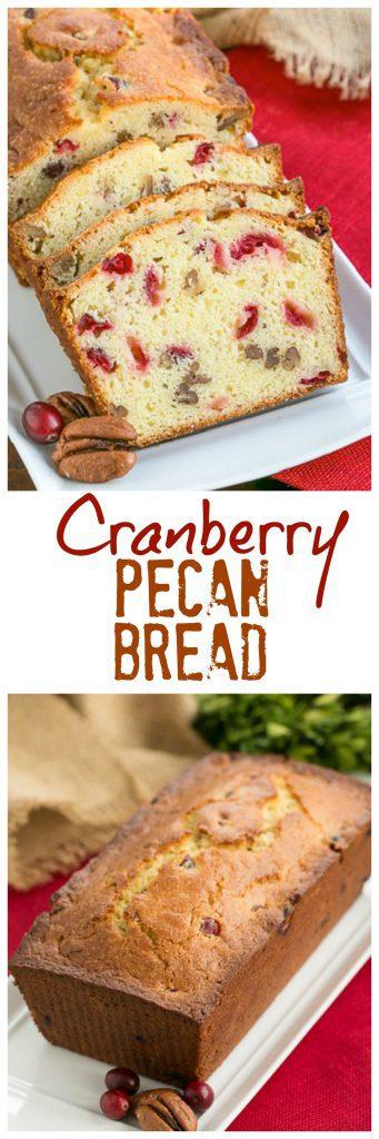 Cranberry Pecan Bread photo collage
