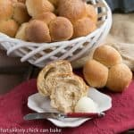 Honey Whole Wheat Rolls #Giveaway #GRAINHoliday