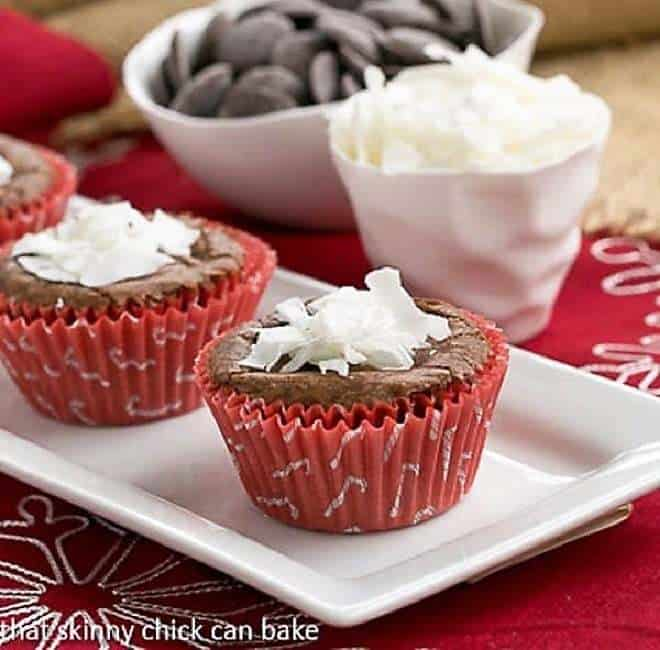 Mounds Brownie Cupcakes