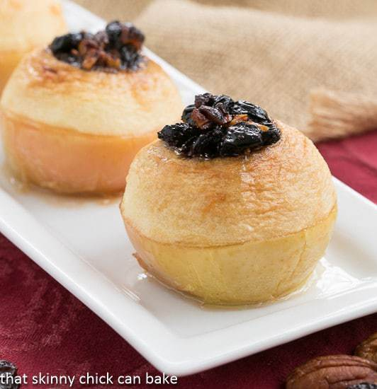 Baked Apples with Fruits and Nuts