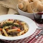 Beef Burgundy Pasta #SundaySupper