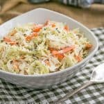 Classic Coleslaw | Perfect slaw for picnics and gatherings
