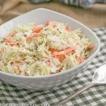 Classic Cole Slaw | Perfect slaw for picnics and gatherings
