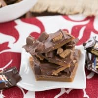 Double Dose English Toffee | That Skinny Chick Can Bake