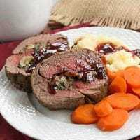 Beef Tenderloin with Gorgonzola Sauce featured image