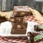 Milky Way Fudge | That Skinny Chick Can Bake