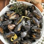 Moules Marinière #FrenchFridayswithDorie