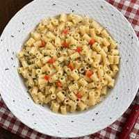 Pasta Risotto from Dorie Greenspan - a creamy pasta dish that's an upscale mac and cheese