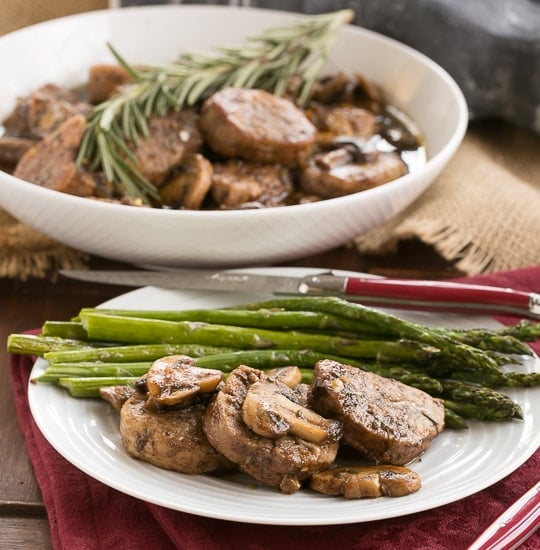 Pork Tenderloin with Maple Balsamic Glaze