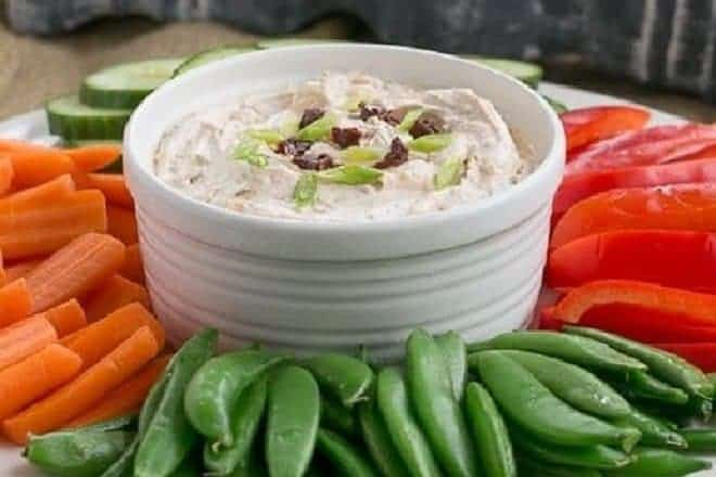 Ina's Sun-dried Tomato Dip - an easy, irresistible dip made your food processor!