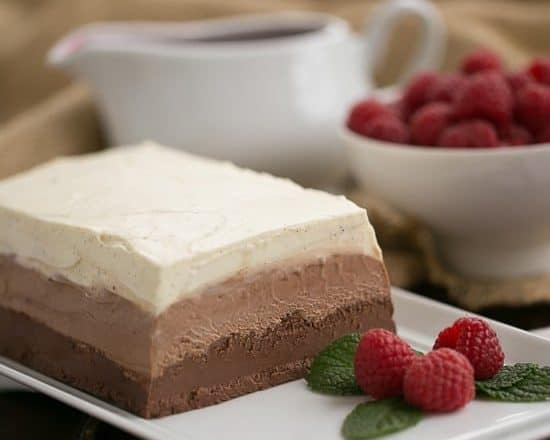 Triple Chocolate Terrine - That Skinny Chick Can Bake