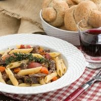 Beef Burgundy Pasta  Pure comfort food and totally irresistible!