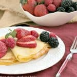 Butter and Rum Crêpes #FrenchFridayswithDorie