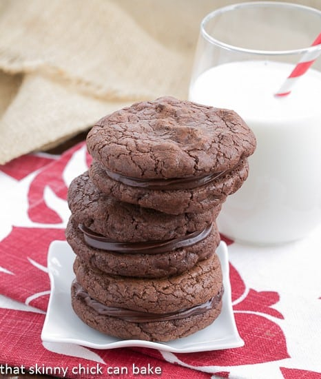 Chocolate Espresso Sandwich Cookies Recipes — Dishmaps
