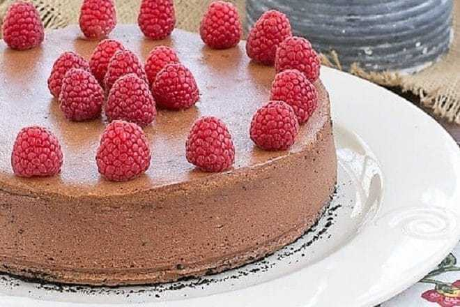 Chocolate Mascarpone Cheesecake featured image