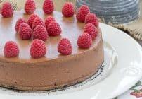 Chocolate-Mascarpone Cheesecake   A dreamy cheesecake with an Italian twist!