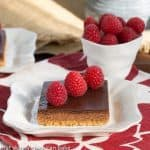 Dark Chocolate Mousse Bars #BakewithGhirardelli