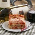 Easy Sausage and Mushroom Lasagna