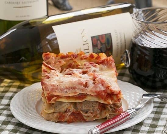 Easy Sausage and Mushroom Lasagna | Two shortcuts for easier