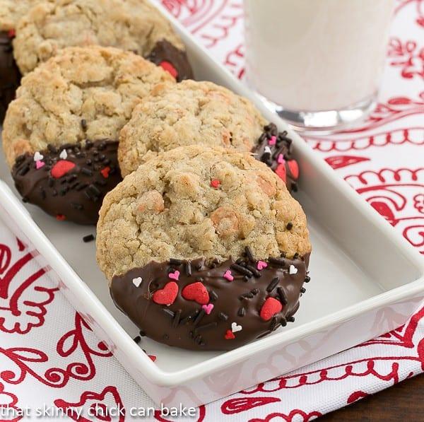 Big Dipper Oatmeal Butterscotch Cookies   Chewy Oatmeal Cookies Chock Full of Butterscotch Morsels