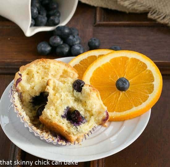 Blueberry Orange Muffins #MuffinMadness