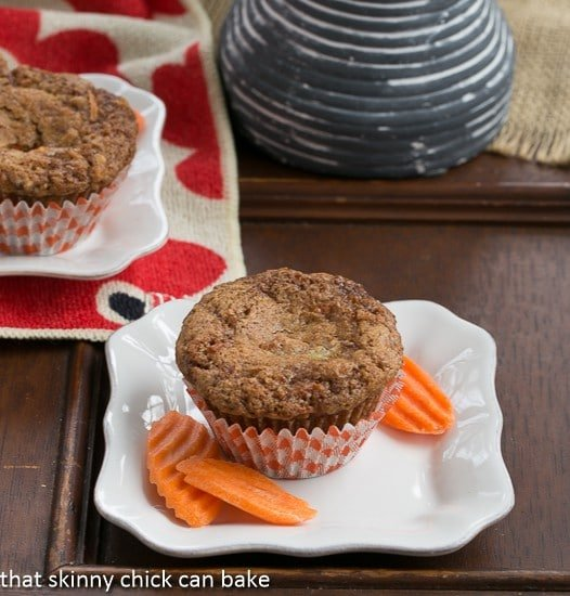Cream Cheese Filled Carrot Cake Muffins | Sweet and tender with a marvelous surprise in the middle