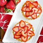 Fresh Strawberry Tartlets #SundaySupper #DixieCrystals