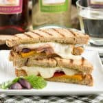 Mediterranean Grilled Cheese #SundaySupper