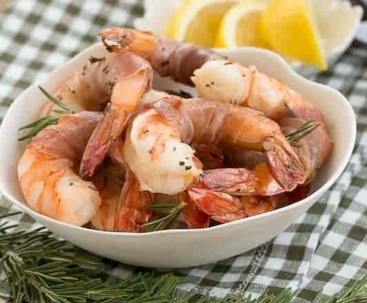 Rosemary Prosciutto Shrimp