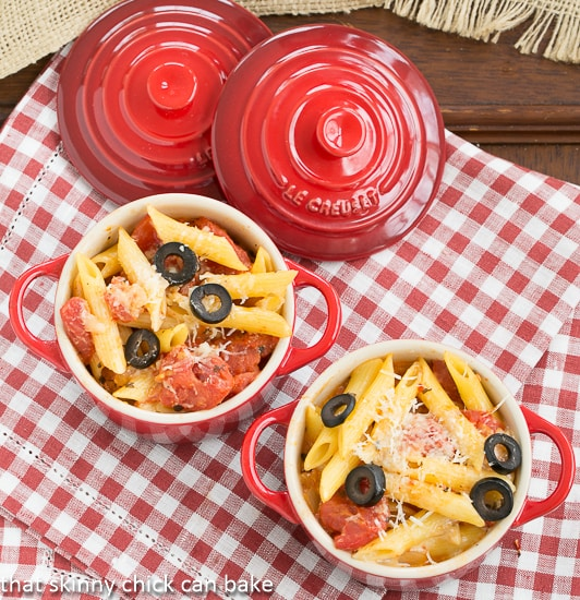 Spicy Penne with Tomatoes and Havarti - An elegant macaroni and cheese!